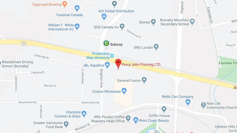 Percy John Flooring location