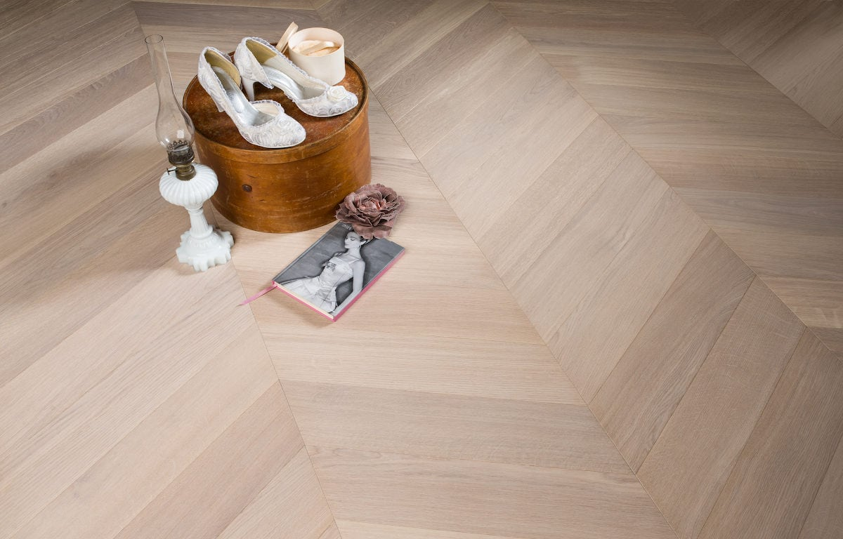 Bonnard chevron oak Skyfall
