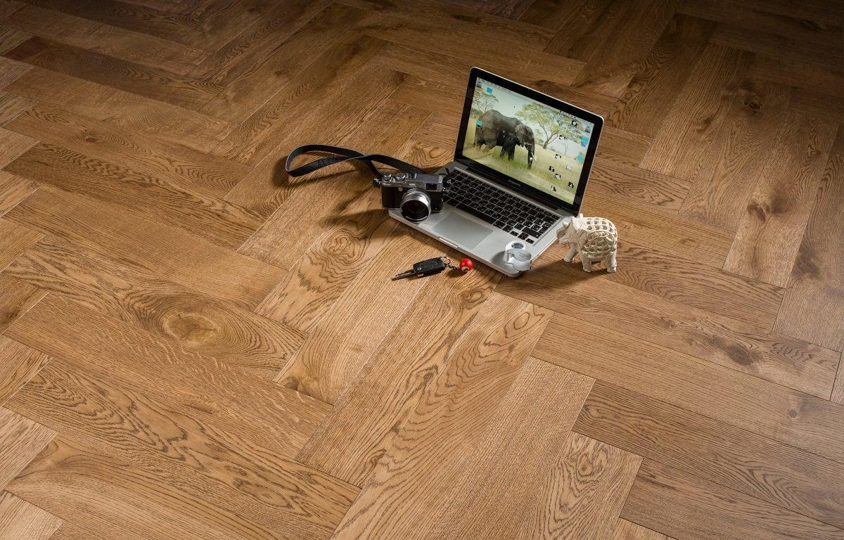 Bonnard herringbone oak cedar