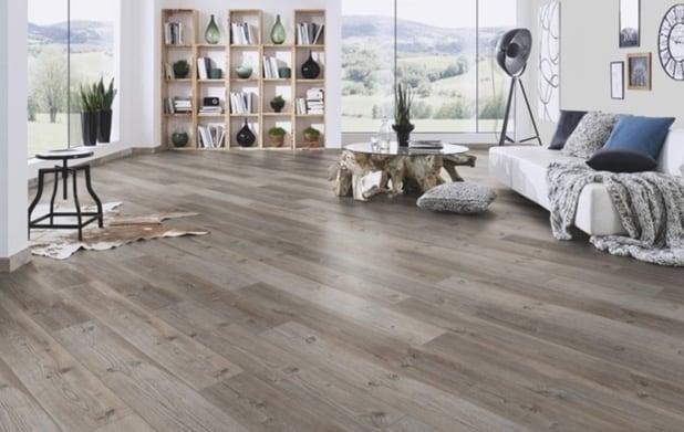 Laminate flooring sitting room