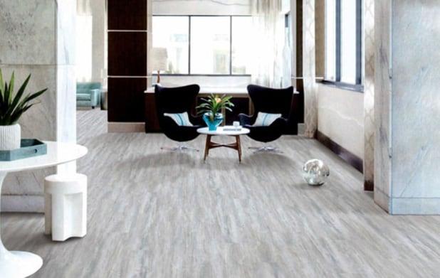 Vinyl flooring sitting room